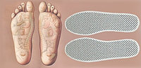 Турмалиновые стельки для обуви (тонкие)