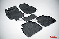 Резиновые коврики для Nissan Tiida 2007-2014