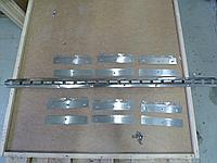 Планка (крепление) для ПВХ штор 6 подвесок