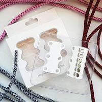Умные магниты для шнурков Magnetic Shoelaces (Белый / Для детей)