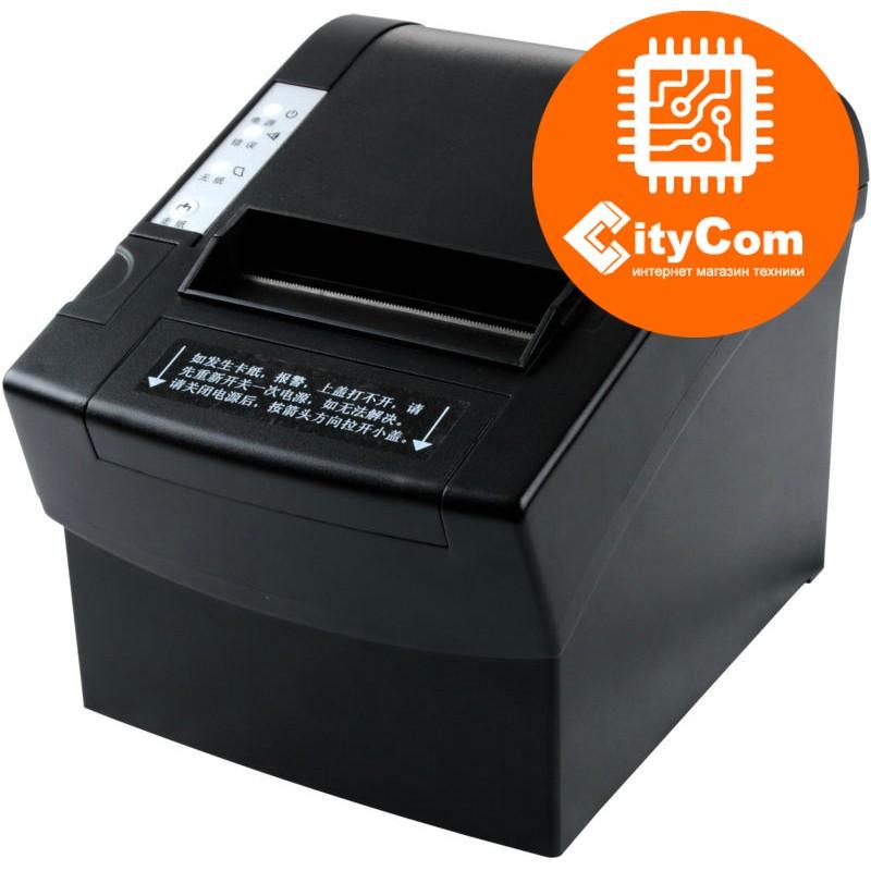 Принтер чеков XPrinter XP-C2008, 80мм, USB POS термопринтер чековый для магазинов, бутиков, кафе и д