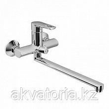 Смеситель для ванны с длинным изливом с керамическим дивертором, Runo, IDDIS, RUNSBL2i10WA