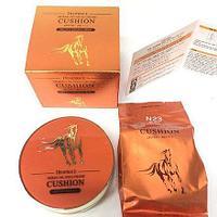 Deoproce Horse Oil Hyalurone Cushion SPF 50 PA - Кушон с лошадиным жиром и гиалуроновой кислотой