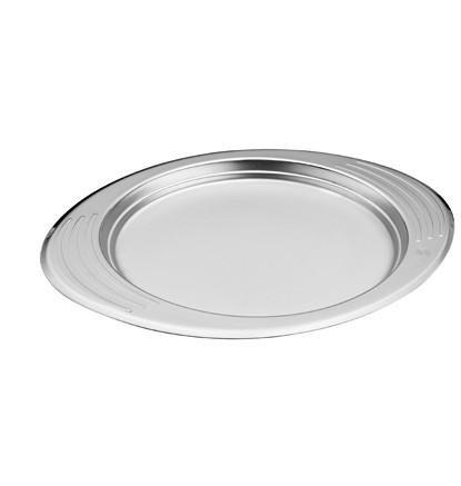 Сервировочная миска 0,7 л, диаметр 24 см, высота 1,8 см, ( мелкое )