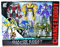 """39-55 Трансформер """"Change Robot""""  превращение Самурая 5в1 33*27см"""