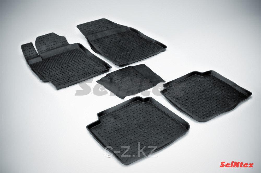 Резиновые коврики для Toyota Camry VI 2006-2012