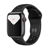 Apple Watch Nike Series 5 40mm Space Gray Aluminum Case with Nike Sport Band, фото 1