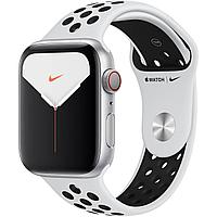 Apple Watch Nike Series 5 44mm Silver Aluminum Case with Nike Sport Band, фото 1