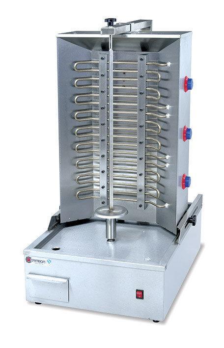 Аппарат донер кебаб, промышленный электрический c мотором