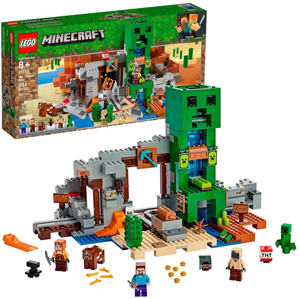 LEGO Minecraft Шахта крипера