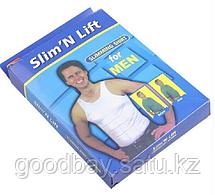 Slim N Lift (Слим Энд Лифт) мужская утягивающая майка, фото 2
