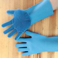 Силиконовые перчатки Magic Brush, фото 3