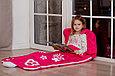 Детский спальный мешок красный  слипик, фото 2