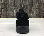 Кроссовки Зимние Nike Air Force 1 Winter (Black), фото 3