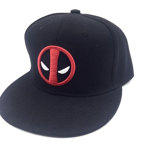 SNAPBACK Deadpool черная, фото 2
