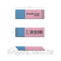 Ластик, ErichKrause®, 35749, Hybrid в коробке 42 шт