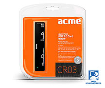 Кардридер ACME CR03 universal USB 2.0 Card reader