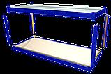 Металлический каркас разборного модульного здания с готовыми полами, крышей, потолком и электропроводкой., фото 2