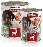 Bewi-Dog  venison 800г Консервы корм из оленины