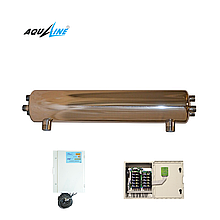 УФ установка обеззараживания воды Aqualine E -110 PRO ( произв-ть 10 м3/час)