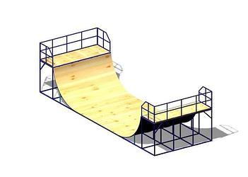Рампа для скейтбординга