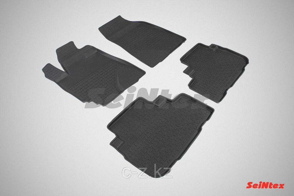 Резиновые коврики для Toyota Highlander II 2007-2013