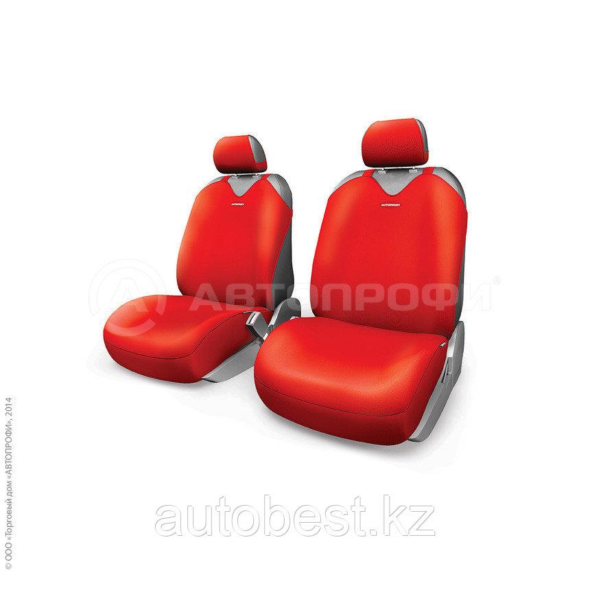 Майки R-1 SPORT PLUS, закрытое сиденье, полиэстер,  красный