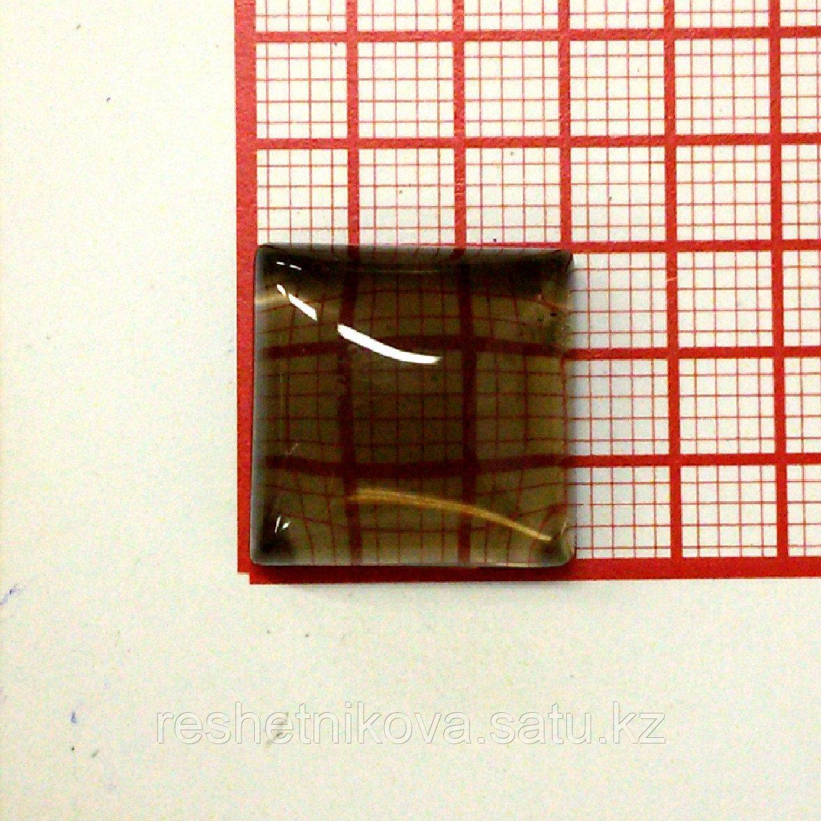 Кабошон квадрат 15 мм