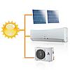 Кондиционер настенный на солнечных панелях Gree-12: Solar series R410A GWH12TB-K3DNA1F (комплектуется медными