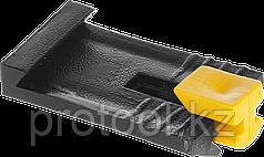 ЗАМШ-П Зажим пластиковый для маячкового профиля, ЗУБР 100 шт.