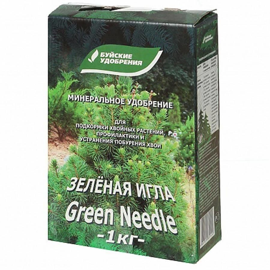 Удобрение Зеленая игла минеральное 1 кг