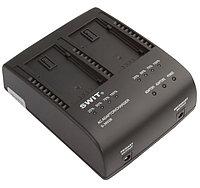 SWIT S-3602B двух-канальное зарядное устройство для аккумуляторов Panasonic VBG6 и SWIT S-8BG6