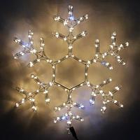 """Новогодняя светодиодная фигура """"Снежинка"""" 60х60 см (НФ-67)"""