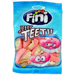 """Жевательный мармелад """"Jelly Teeth - Зубы"""" FINI Испания 100гр"""