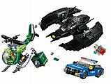 Конструктор Lari аналог лего LEGO 76120 Super Heroes DC Comics Бэткрыло Бэтмена и ограбление Загадочника 513 д, фото 3