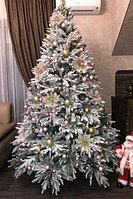 """Искусственная новогодняя елка со снегом """"Siberia Gold 2018"""" - 240 см"""