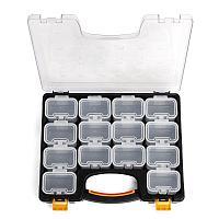 Кейс-органайзер с 14 сменными модулями, серия «ПРОФИ»