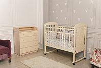 Кровать детская Incanto Civetta колесо-качалка слоновая кость