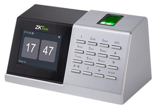 """D2 - Автономный настольный биометрический (по отпечаткам пальцев) считыватель с функциями учёта времени, посещаемости и управления доступом. С 2.8"""" LC"""