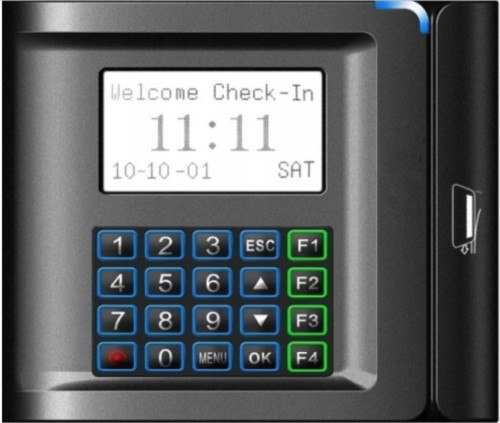 US10C-M (Stripe card) - Автономный считыватель Mifare-карт с функциями учёта времени, посещаемости и управления доступом.
