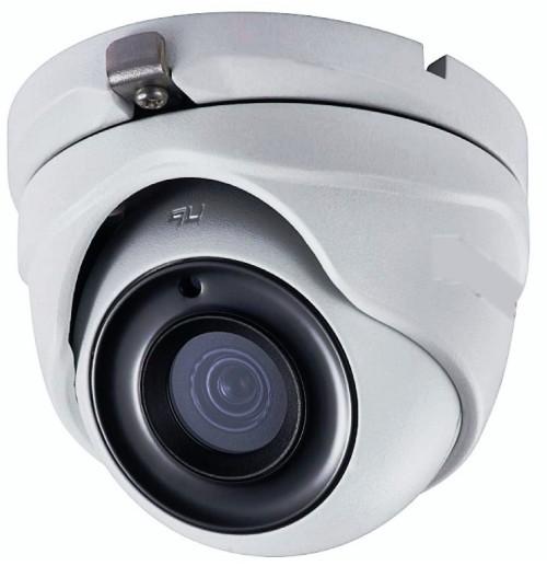 DS-T503 - 5MP HD-TVI уличная купольная камера с фиксированным объективом и ИК-подсветкой.