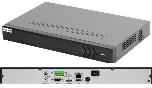 DS-N316/2 - 16-ти канальный сетевой видеорегистратор с разрешением записи до 6MP на канал, с 2-мя SATA-интерфейсами.