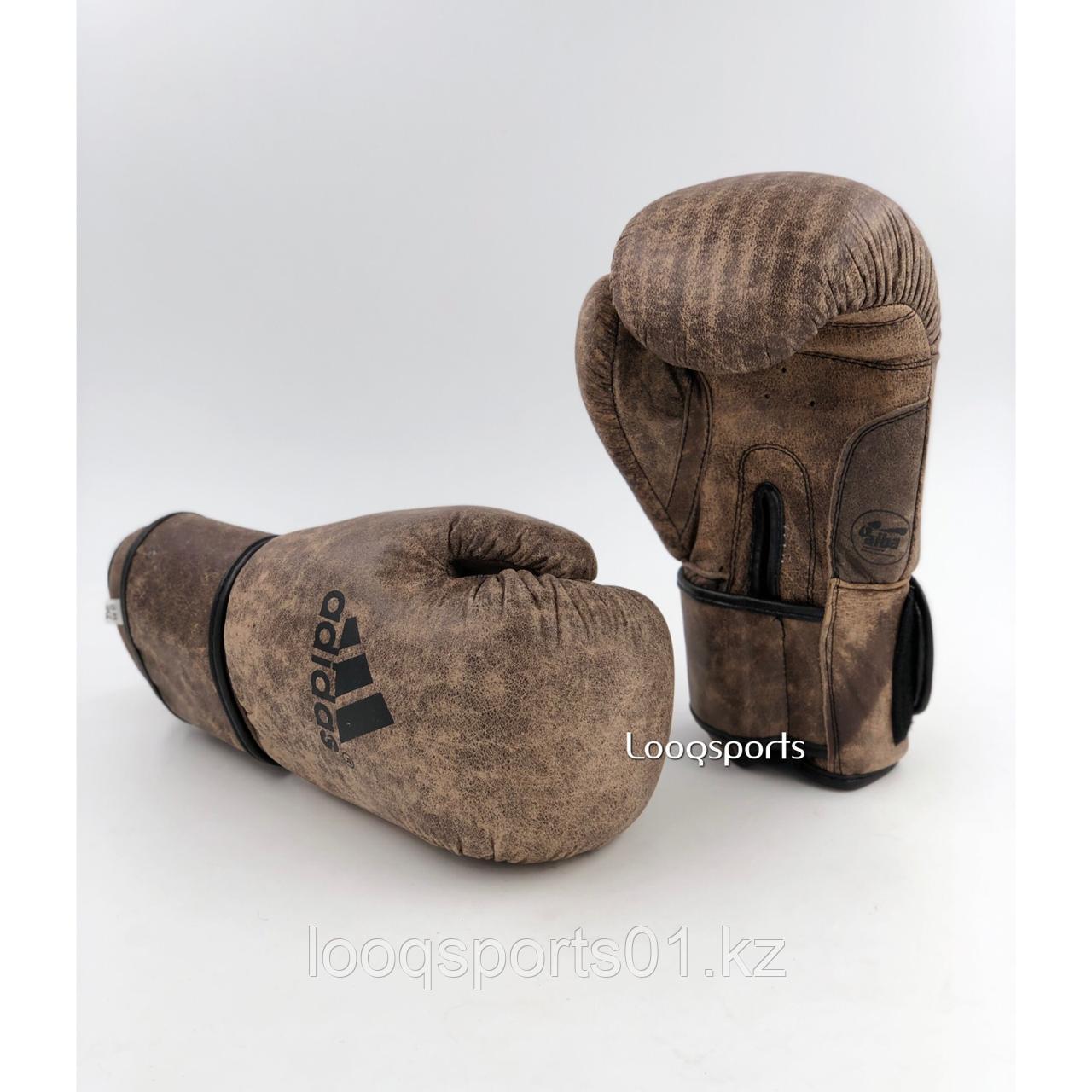 Боксерские перчатки Adidas Aiba (кожа) с бесплатной доставкой