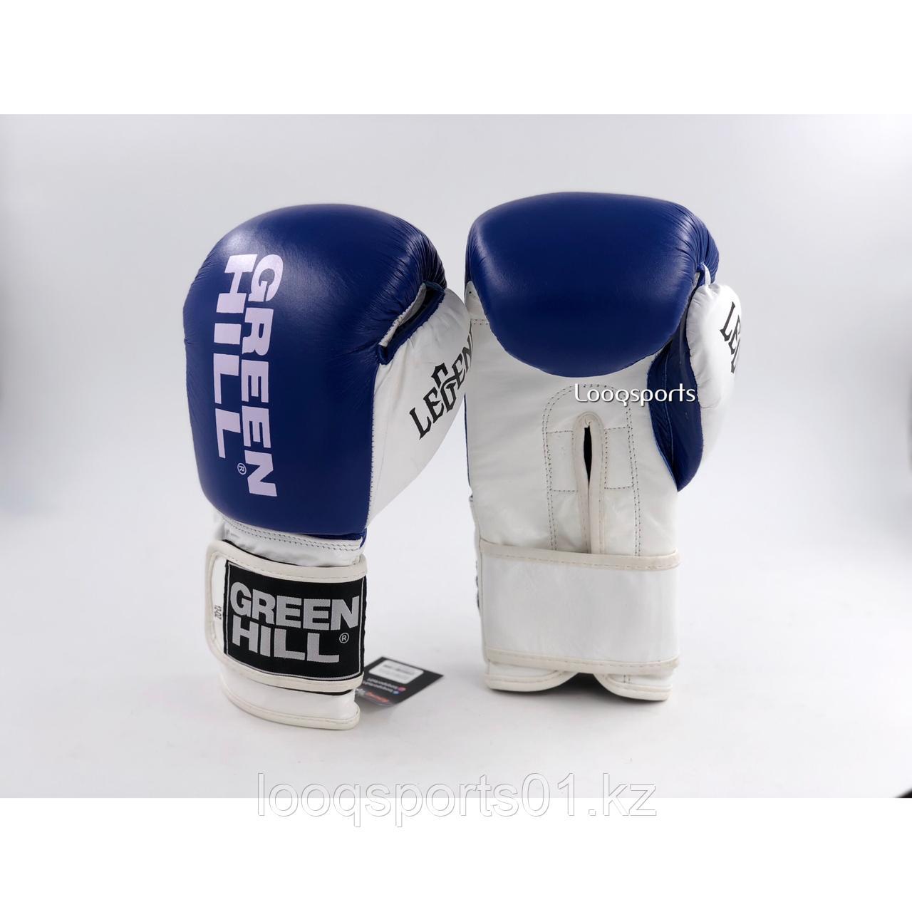 Боксерские перчатки Green Hill (кожа) с бесплатной доставкой