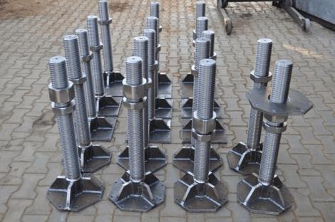Домкраты для крепления опалубки