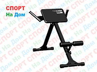 Скамья для мышц спины Гиперэкстензия Leco Starter до 100 кг. доставка