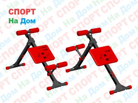 Скамья для пресса и мышц спины Leco-IT Home до 120 кг доставка
