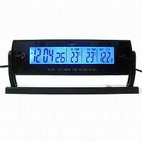 Термометр автомобильный с часами VST- 7013V