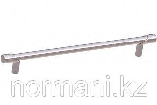 Ручка-скоба 192мм, отделка никель глянец шлифованный