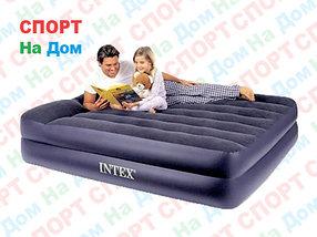 Надувная кровать Intex 66702/64124 (Габариты: 203 х 152 х 42 см) с насосом